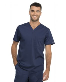 Cherokee WorkwearMedical - HQ/WW Tops WW625 Unisex 1 Pocket V-Neck Top