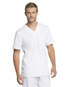 Cherokee Workwear Revolution Scrubs Tech C+ Men's Top
